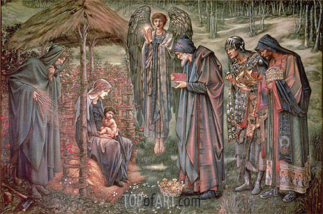 Burne-Jones | The Star of Bethlehem, c.1888/91