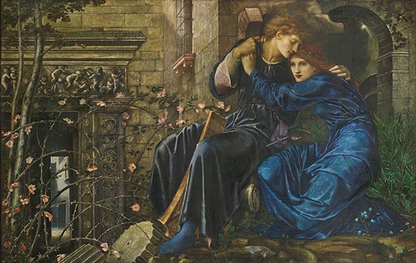 Burne-Jones | Love Among the Ruins, 1894