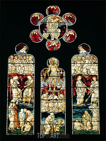 Burne-Jones | The Last Judgement, c.1874/75