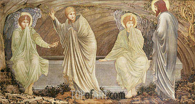 The Morning of the Resurrection,  | Burne-Jones | Painting Reproduction