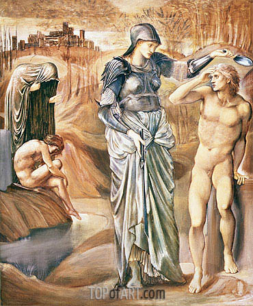 Burne-Jones | The Call of Perseus, c.1876