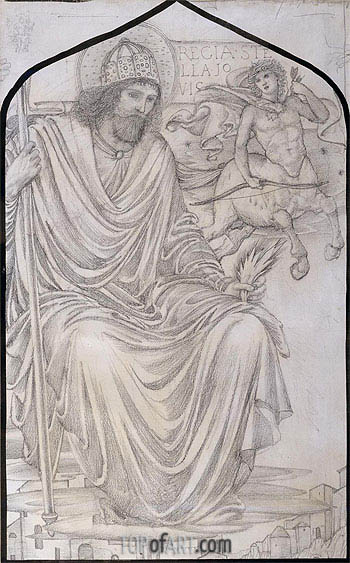 Burne-Jones | Jupiter,