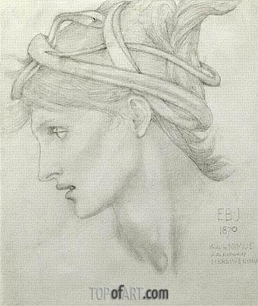Burne-Jones | Nimue, 1870