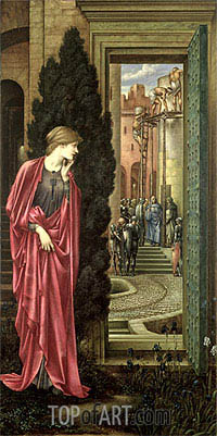 Danae and the Brazen Tower, c.1887/88 | Burne-Jones| Painting Reproduction