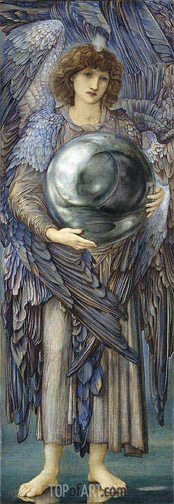 Burne-Jones | The Days of Creation: The First Day, c.1870/76