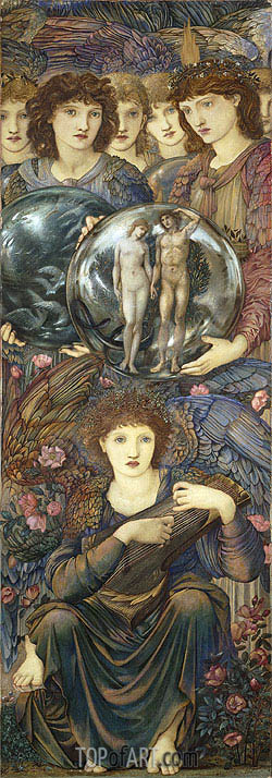 The Days of Creation: The Sixth Day, 1876 | Burne-Jones | Painting Reproduction