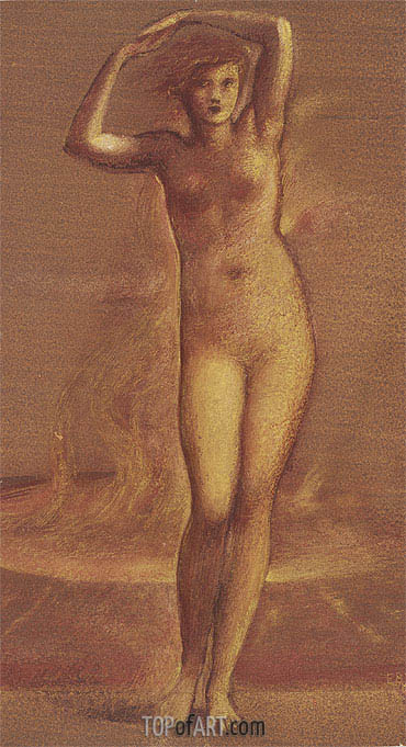 Helen of Troy, undated | Burne-Jones | Painting Reproduction