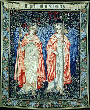Burne-Jones | Angeli Ministrantes, 1894