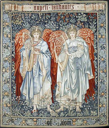 Burne-Jones | Angeli Laudantes, 1894