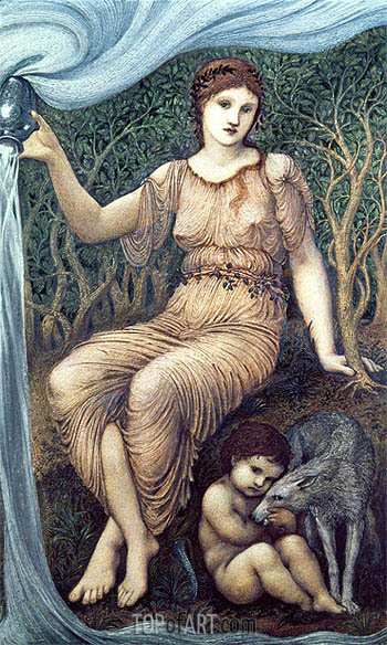Earth Mother, 1882 | Burne-Jones | Painting Reproduction