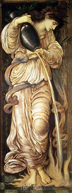 Temperantia, 1872 | Burne-Jones| Painting Reproduction