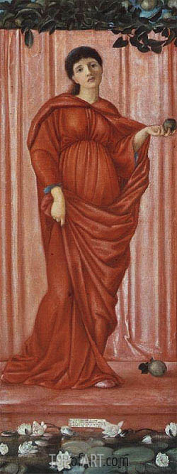 Autumn, c.1869/70 | Burne-Jones | Painting Reproduction