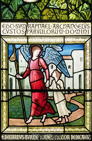 Dedication Window,  | Burne-Jones| Painting Reproduction