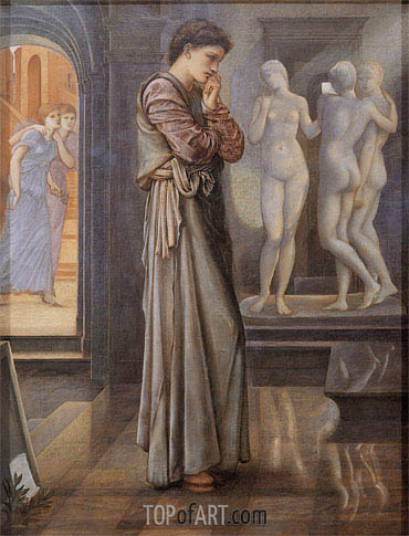 The Heart Desires, c.1875/78 | Burne-Jones| Painting Reproduction