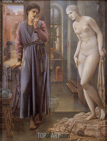 The Hand Refrains, c.1875/78 | Burne-Jones | Gemälde Reproduktion