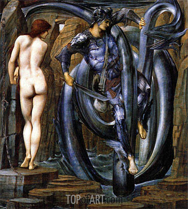 The Doom Fulfilled, c.1884/85 | Burne-Jones | Painting Reproduction