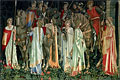 The Arming and Departure of the Knights | Sir Edward Burne-Jones