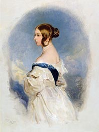 Queen Victoria, 1839 by Landseer | Painting Reproduction