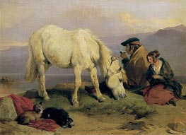 A Highland Scene, c.1834 by Landseer | Painting Reproduction