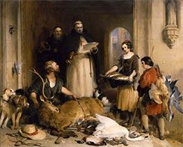Bolton Abtei in der alten Zeit, c.1834 von Landseer | Gemälde-Reproduktion