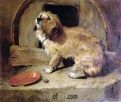There's No Place Like Home, undated | Landseer | Gemälde Reproduktion
