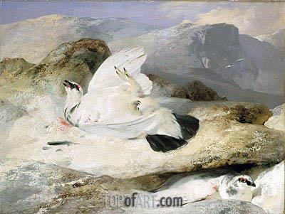 Landseer | Ptarmigan in a Landscape, 1833