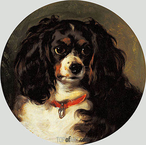 Dash, 1836 | Landseer| Painting Reproduction
