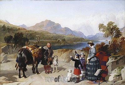 Landseer | Queen Victoria at Loch Laggan, 1847