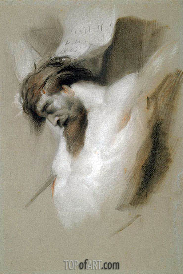 Landseer | Christ on the Cross after Rubens, 1840