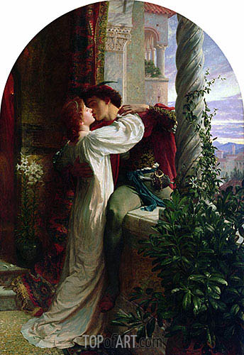 Romeo and Juliet, 1884 | Frank Dicksee| Painting Reproduction