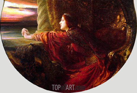 Yseult, 1901 | Frank Dicksee | Painting Reproduction
