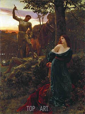 Frank Dicksee   Chivalry, 1885