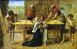 Christ in the House of His Parents, c.1849/50 by Millais | Painting Reproduction