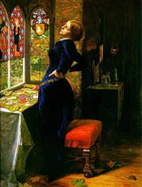Mariana in the Moated Grange | Millais | Gemälde Reproduktion