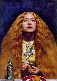 The Bridesmaid | Millais | Gemälde Reproduktion