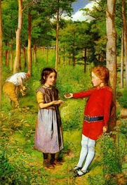 The Woodsman's Daughter, 1851 by Millais | Painting Reproduction