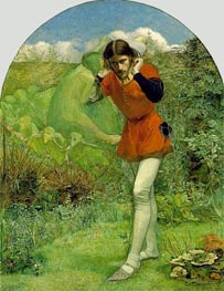 Ferdinand Lured by Ariel, c.1849/50 by Millais | Painting Reproduction