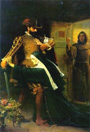 Mercy: St Bartholomew's Day, 1572 | Millais | outdated