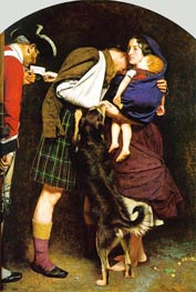 The Order of Release 1746, c.1852/53 by Millais | Painting Reproduction