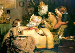Ruling Passion, undated by Millais | Painting Reproduction