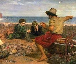 Die Kindheit von Raleigh, 1870 zoll Millais | $