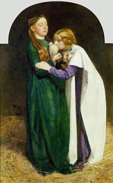 The Return of the Dove to the Ark, 1851 by Millais | Painting Reproduction