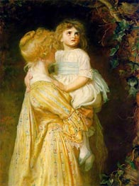 The Nest, 1887 by Millais | Painting Reproduction