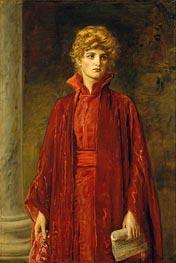 Portia (Kate Dolan) | Millais | Painting Reproduction