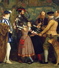 The Ransom, c.1860/62 by Millais | Painting Reproduction