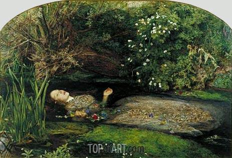 Millais | Ophelia, c.1851/52