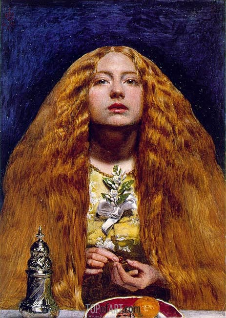 The Bridesmaid, 1851 | Millais | Painting Reproduction