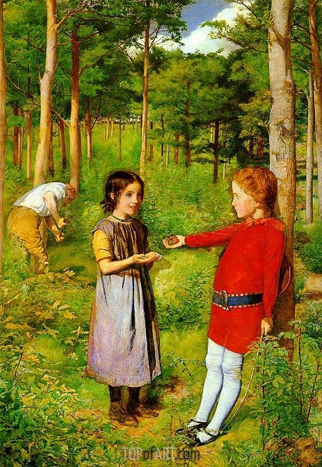 Millais | The Woodsman's Daughter, 1851