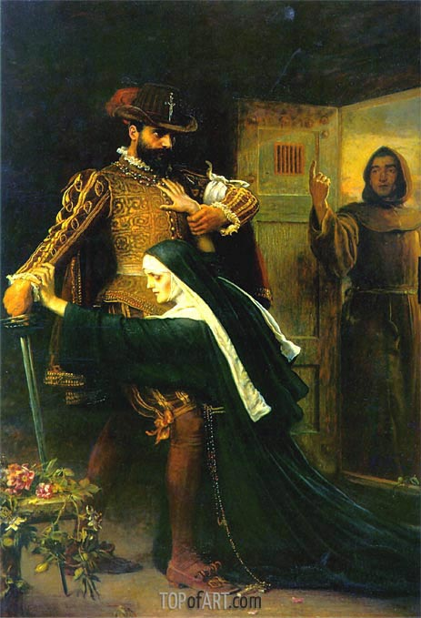 Millais | Mercy: St Bartholomew's Day, 1572, 1886