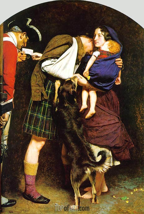 The Order of Release 1746, c.1852/53 | Millais | Painting Reproduction